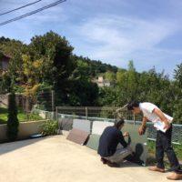 北鎌倉の家の素材チェック
