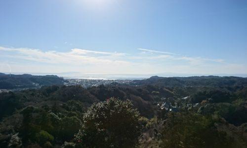 峯からの景色