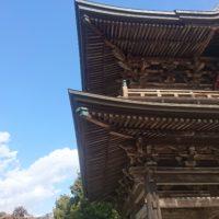 建長寺の外観と青い空