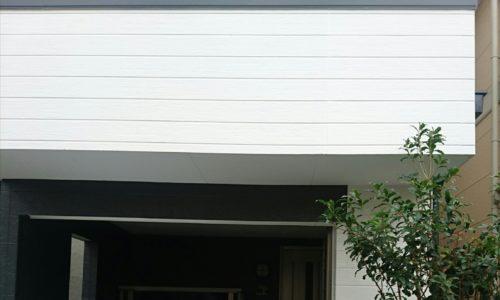 阿佐谷の白系の外壁に塗装